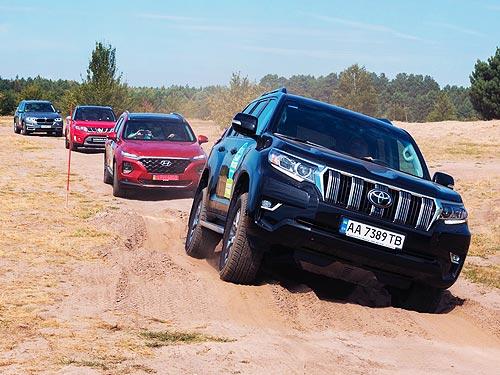 В мае доля сегмента SUV в Украине достигла рекордного показателя