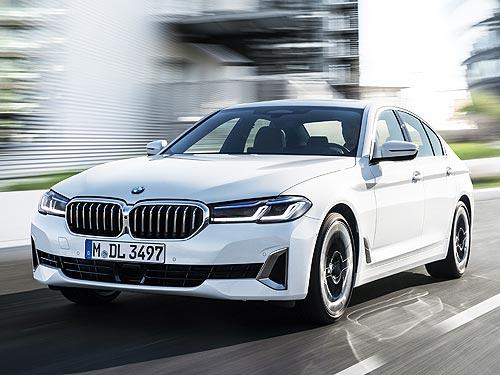 Каким будет обновленный BMW 5 серии. Официальные подробности