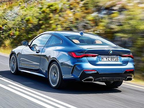 Новое поколение BMW 4 серии Coupe будет доступно уже во 2-й половине 2020 г. - BMW