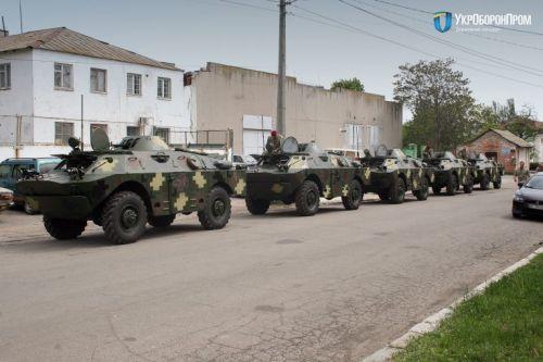 Военные получили партию восстановленных дозорных машин БРДМ-2Л1 - БРДМ
