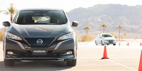 Nissan представляент новую систему управления электромобилем Nissan e-4ORCE - Nissan