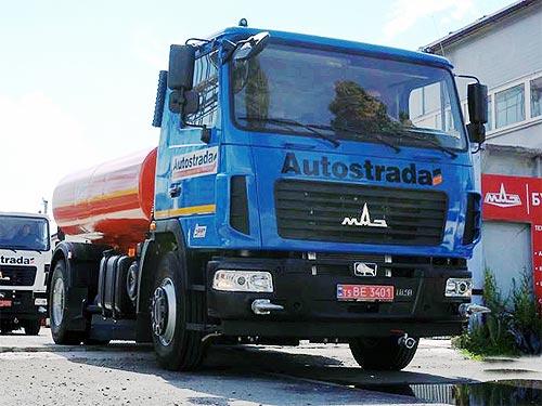 «Автострада» закупила поливомоечные машины на шасси МАЗ - МАЗ