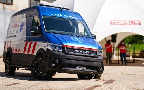 В Украине на базе Volkswagen Crafter разработали автобус для бездорожья - Volkswagen