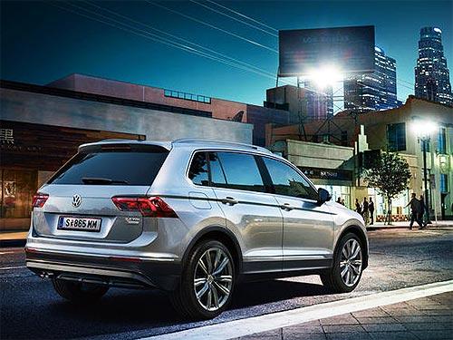 В Украине появились доступные версии Volkswagen Tiguan - Volkswagen
