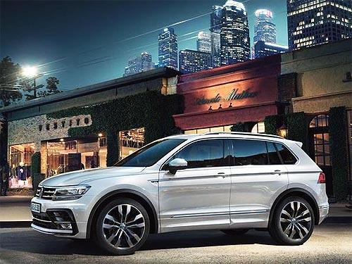 В Украине появились доступные версии Volkswagen Tiguan
