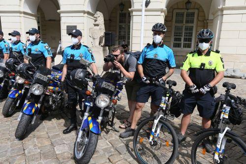 Во Львове появилось особое подразделение патрульной полиции