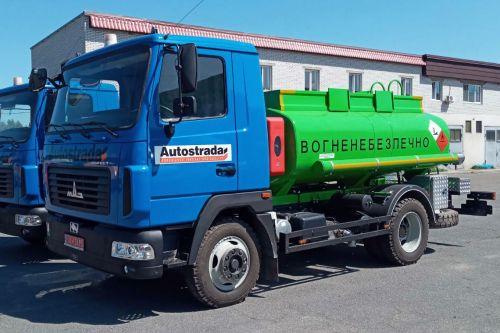 Дорожные строители выбрали в этом сезоне топливозаправщики на шасси МАЗ и IVECO