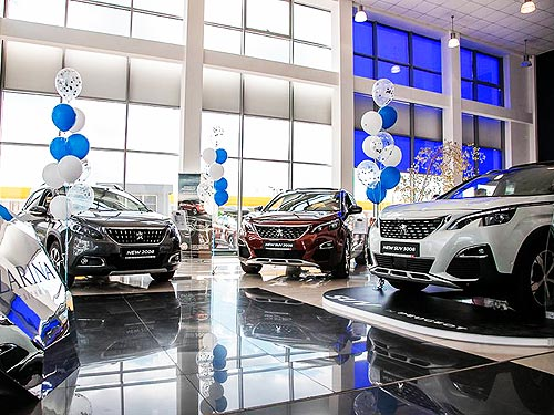 Продажи Группы PSA превысили 1 млн. авто - PSA
