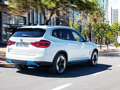 Стали известны подробности о новом электрокроссовере BMW iX3 - BMW