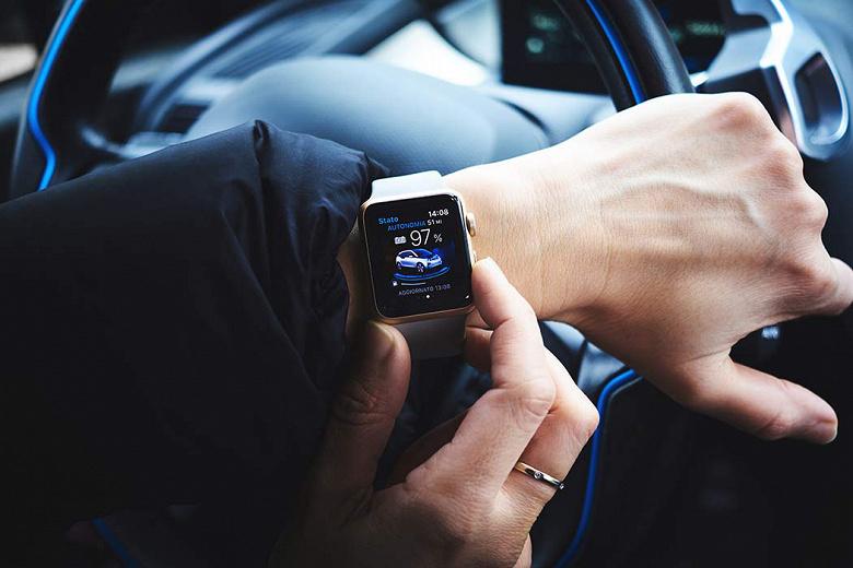 Умные часы Apple Watch теперь могут открывать и заводить автомобили