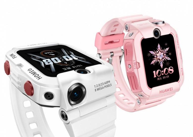 Huawei представила умные часы Watch 4X с NFC и двумя камерами