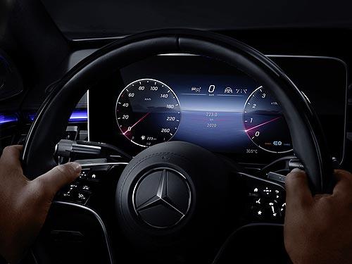 Mercedes-Benz представила технологию, которая появится на новом S-Class - Mercedes-Benz