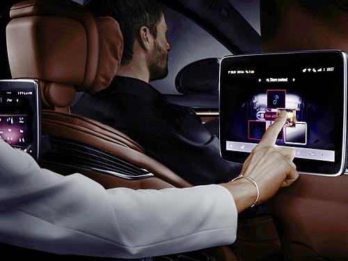 Mercedes-Benz представила технологию, которая появится на новом S-Class