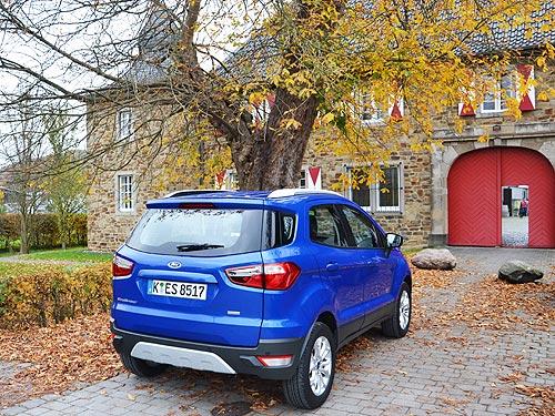 10 причин обратить внимание на Ford EcoSport - Ford