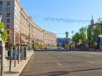 В Киеве на время проведения праздничных мероприятий 23-24 августа перекроют движение на центральных улицах