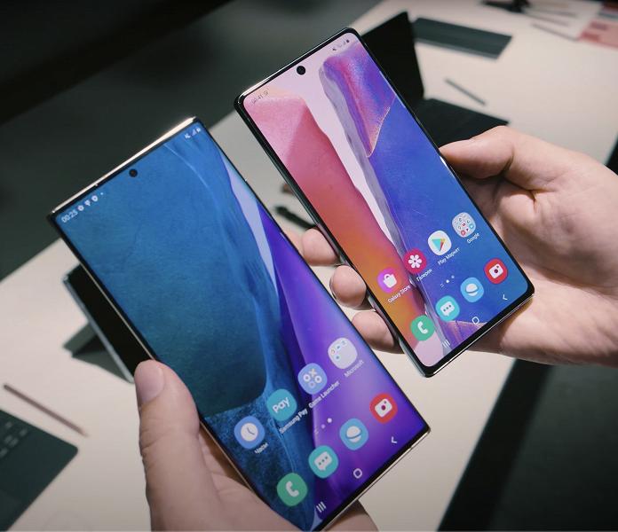 В России вышли флагманские смартфоны Samsung Galaxy Note20 и Note20 Ultra