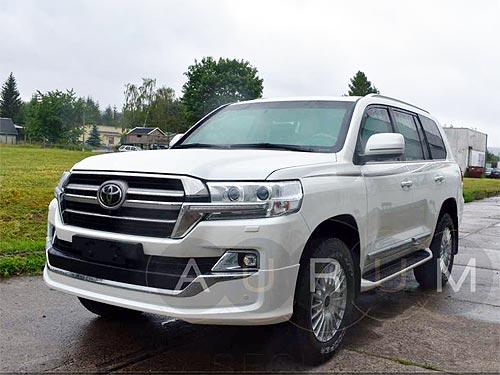 В Украину начали поставлять бронированные автомобили Toyota LC200 / Lexus LX570 наивысшим уровнем защиты VPAM VR 10 (В7+) - брон