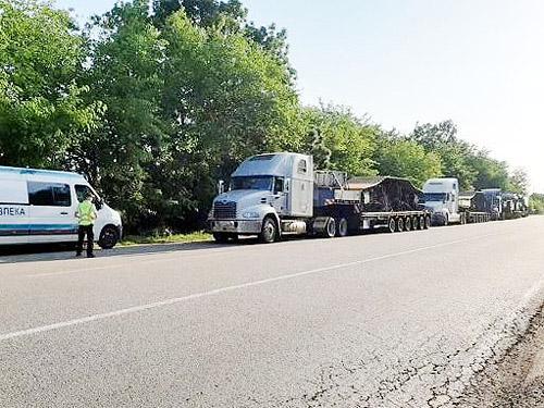 За июль водителям перегруженных грузовиков выписали 22 млн. гривен штрафов