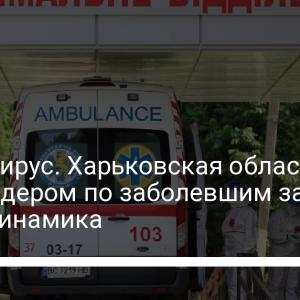 Коронавирус. Харьковская область стала лидером по заболевшим за сутки – динамика