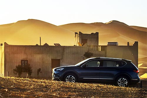 На что способен SEAT Tarraco на бездорожье - SEAT