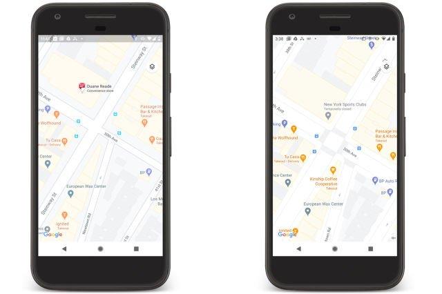 Google выпустила большое красочное обновление карт