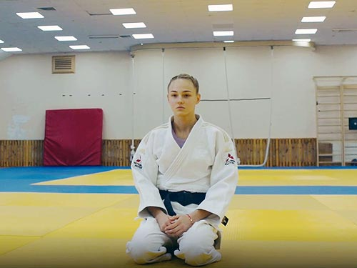 Mitsubishi сняла фильм про украинскую чемпионку по дзюдо - Mitsubishi