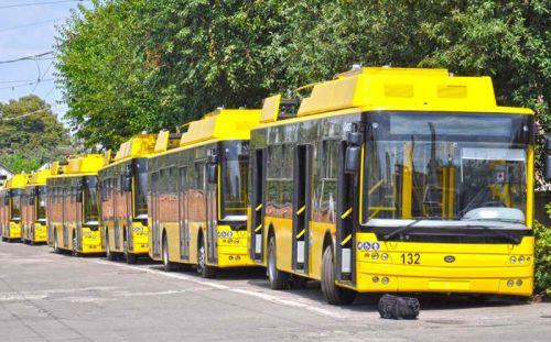 В Полтаве начали курсировать новые троллейбусы Богдан Т70117 - Богдан