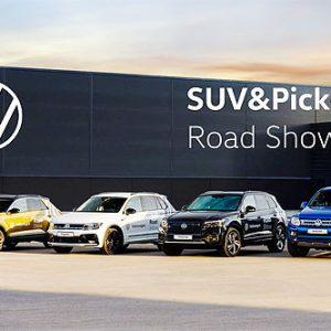 В Украине проходят масштабные тест-драйвы Volkswagen SUV&Pick-Up Road Show