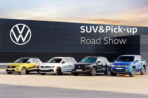 В Украине проходят масштабные тест-драйвы Volkswagen SUV&Pick-Up Road Show - Volkswagen