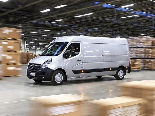 В Украине стартуют продажи фургона Opel Movano. Объявлены цены - Opel