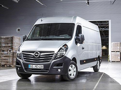 В Украине стартуют продажи фургона Opel Movano. Объявлены цены