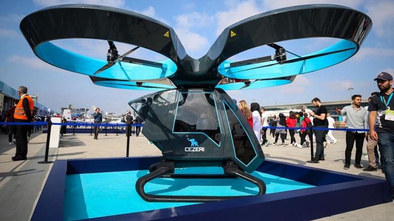 Первый турецкий летающий автомобиль успешно прошёл испытания