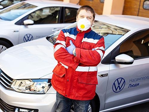 Прежде всего люди. Как Volkswagen в Украине помогает медикам во время карантина - Volkswagen