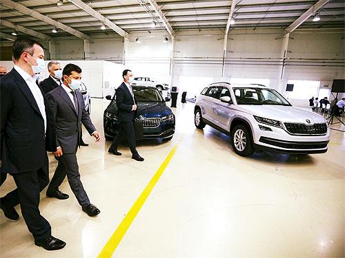 Президент Зеленский посетил «Еврокар». Что он заявил - Еврокар
