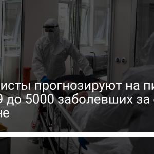 Специалисты прогнозируют на пике COVID-19 до 5000 заболевших за сутки в Украине
