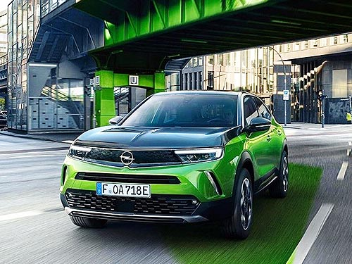 Стали известны европейские цены на новый кроссовер Opel Mokka