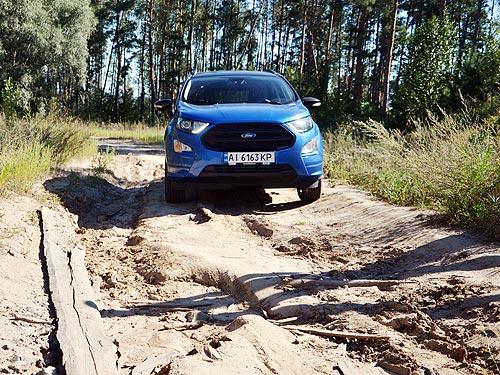 Тест-драйв Ford EcoSport: Второе дыхание - Ford