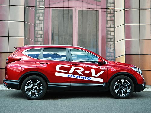 Тест-драйв Honda CR-V Hybrid: Чем умный гибрид отличается от обычного - Honda