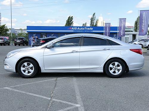 Hyundai Sonata с пробегом доступен с выгодой до 14 000 грн. и в кредит от 64 грн. в день - Hyundai