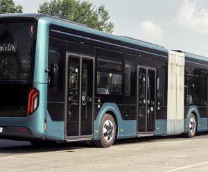 MAN представил 18-метровый электробус