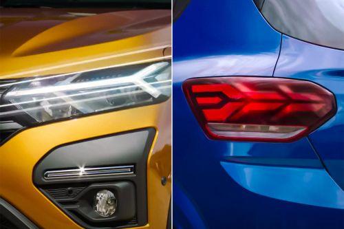 Renault Sandero получит необычную оптику