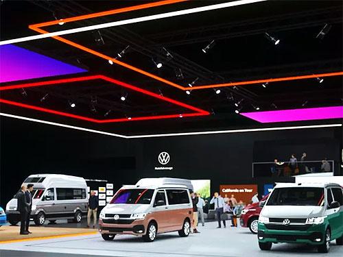 Volkswagen Коммерческие автомобили представили свой виртуальный стенд на выставке в Ганновере - Volkswagen
