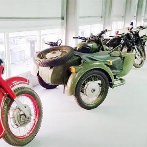 В Киеве продемонстрировали частную коллекцию редкой мототехники