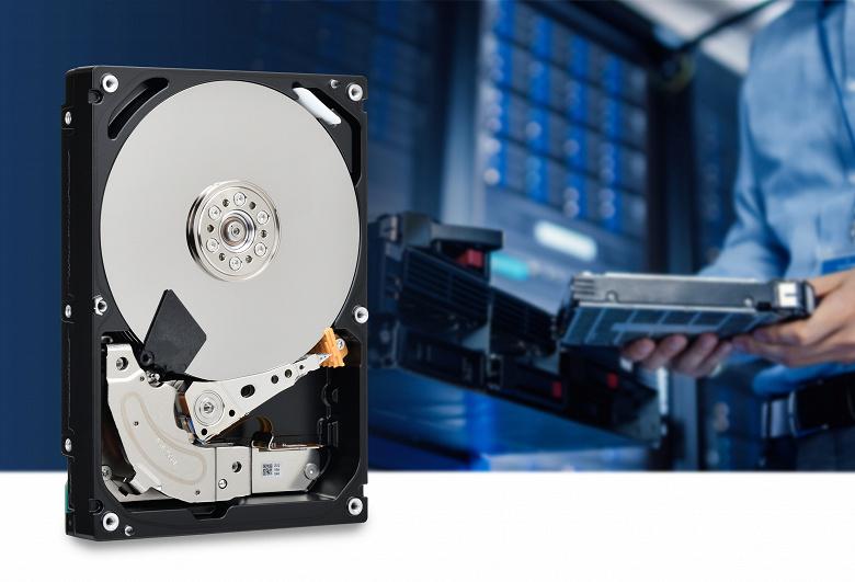 В линейку жестких дисков Toshiba MG08-D вошли модели объемом 4, 6 и 8 ТБ