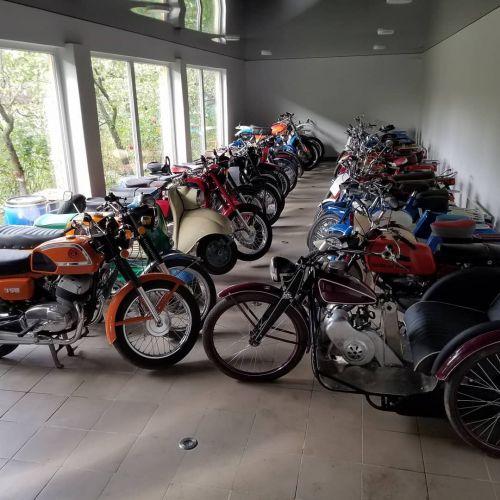 В Украине обнаружили крупнейшую коллекцию мотоциклов - мото