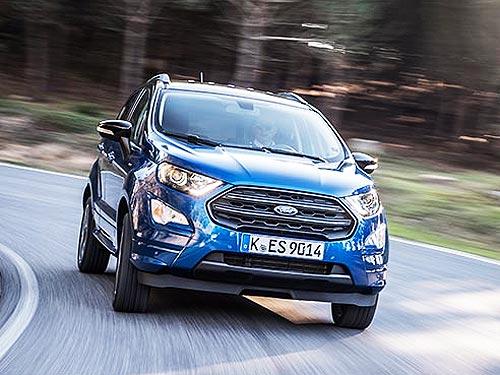 Кроссовер Ford EcoSport в октябре доступен с выгодой до 112 000 грн.
