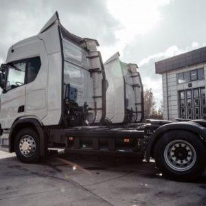 Кто в Украине приобрел первую газовую Scania