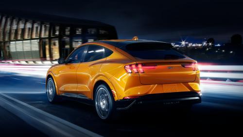 Ford Mustang Mach-E GT превзойдет по динамике европейские электро кроссоверы - Ford