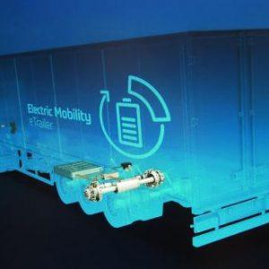 ZF представила полуприцеп с электроприводом, который экономит 16% топлива у тягача