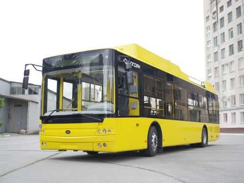 В Полтаву поставили уже половину заказанных троллейбусов Богдан Т70117 - Богдан